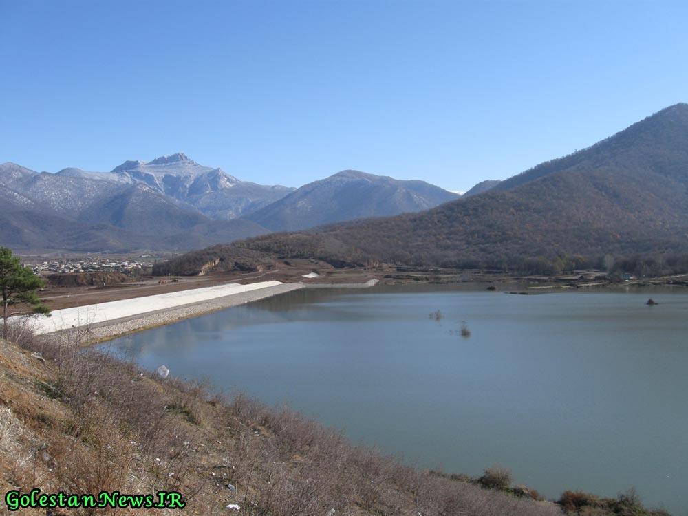 طبيعت زيباي سد خاكي كبودوال شهرستان علي آباد كتول