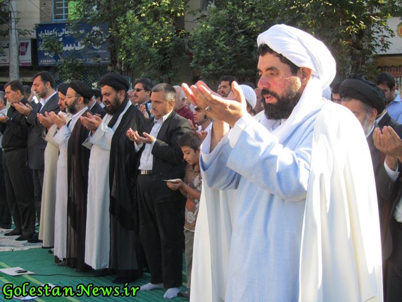 نماز عید فطر علی آباد کتول