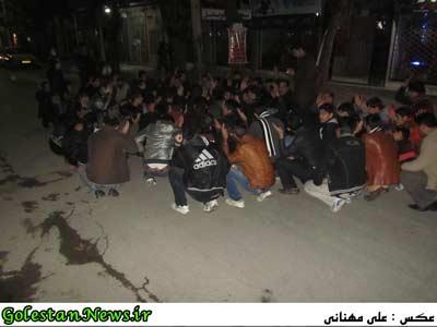 مراسم شام غریبان شهر علی آباد کتول-گلستان