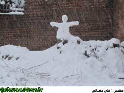 بارش برف-علی آباد کتول-گلستان