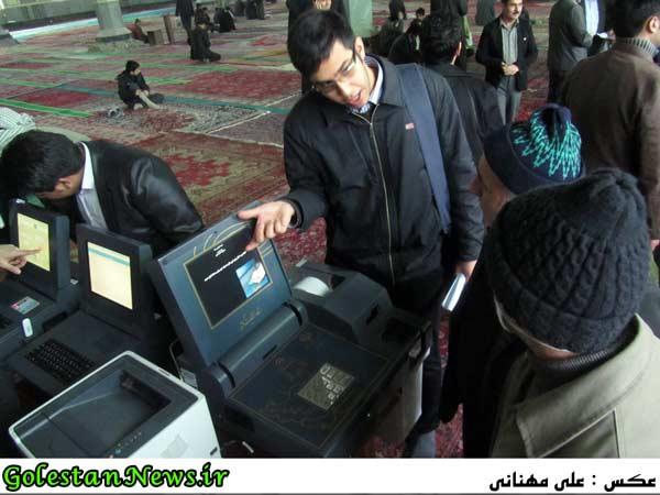 مانور رای گیری-علی آباد کتول-گلستان