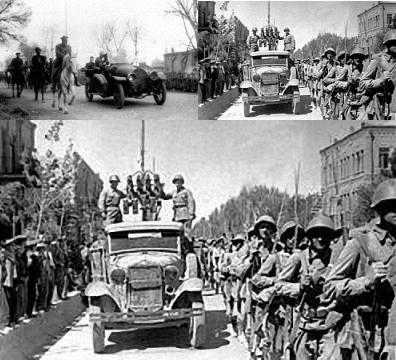 ورود نیروهای متفقین - روس و انگلیس - به ایران