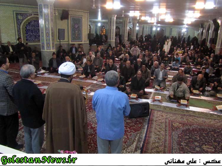 گزارش تصویری سی و هفتمین کرسی تلاوت علی آباد