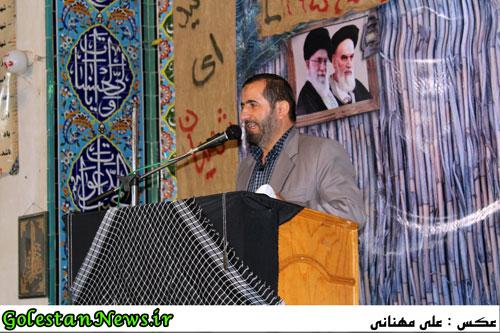 دهمین یادواره شهدای محله ولی عصر عج-سرهنگ قلی پور