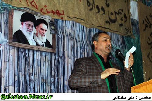 دهمین یادواره شهدای محله ولی عصر عج-سید محمد ضا حسینی