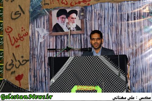 دهمین یادواره شهدای محله ولی عصر عج علی آباد-ابراهیم صیاد اربابی