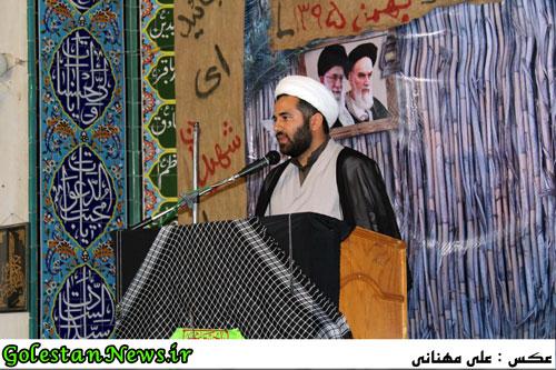 دهمین یادواره شهدای محله ولی عصر عج علی آباد-حجت الاسلام ملک حسینی