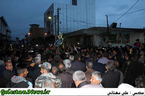 استقبال از شهید مدافع حرم محمد رضا شیبانی