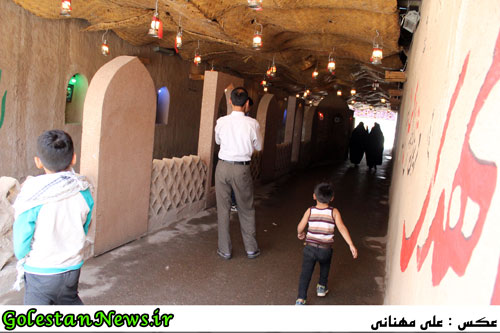 اردوی زیارتی فعالان رسانه ای گلستان به سرزمین نور