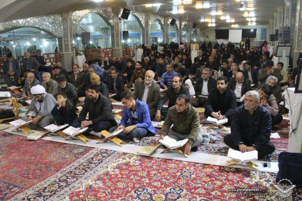 حضور پرشور علاقه مندان به قرآن کریم در کرسی تلاوت علی آباد