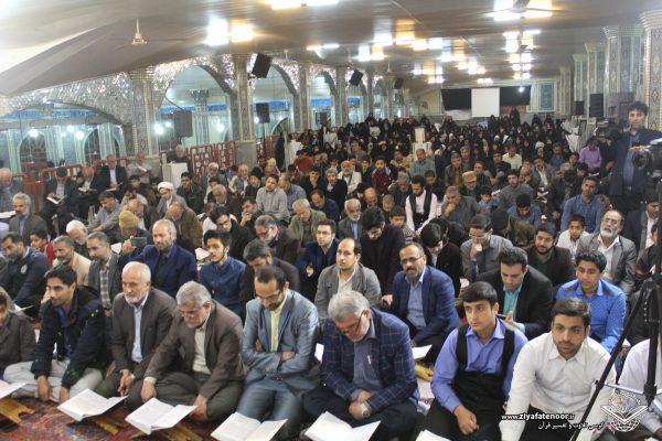 یکصد و شصت و نهمین جلسه کرسی تلاوت و تفسیر قرآن کریم شهر علیآباد
