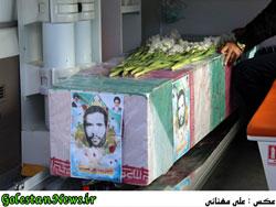 تشییع پیکر پاک پاسدار شهید علی نصرتی-گلستان نیوز