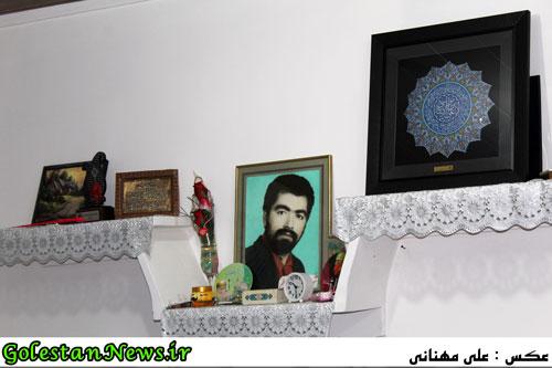 دیدار نماینگان آستان قدس رضوی با خانواده شهید عزیزالله دیلم